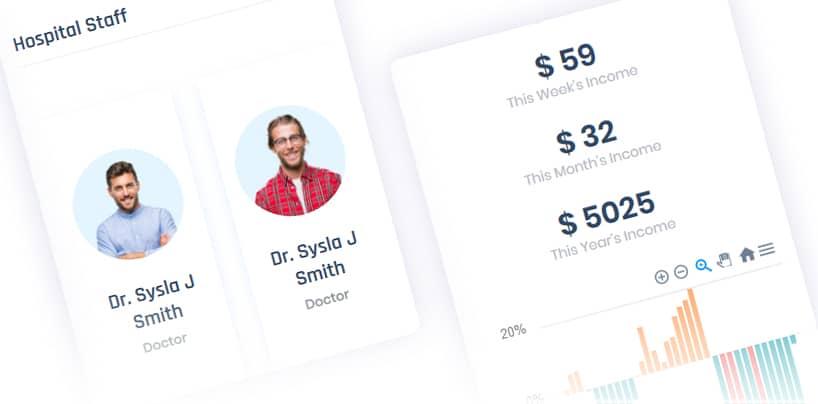 Hospital HTML Dashboard